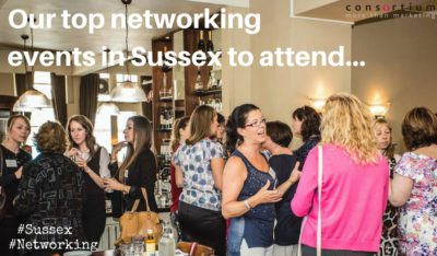 top networking events in Sussex