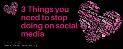 3 Things you need to stop doing on social media