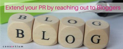 Extend your PR by reaching out to Bloggers