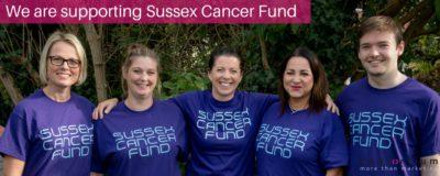 chosen charity Sussex cancer fun