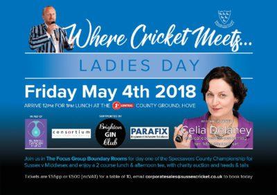 Ladies Day Sussex Cricket