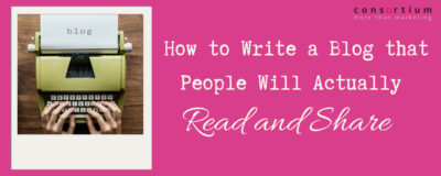 How to write a blog that people will actually read