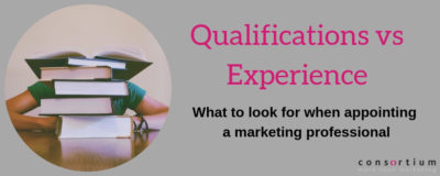 Qualifications vs experience