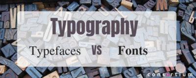 Typeface vs font