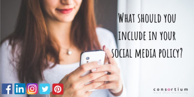 What should you include in your social media policy