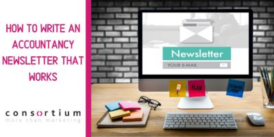 How to write an accountancy newsletter that works