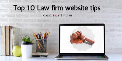 Top 10 Law firm website tips