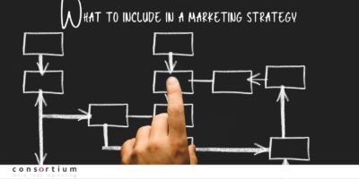 What to include in a marketing strategy