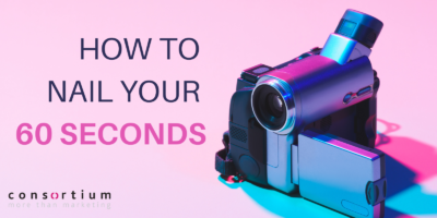How to nail your 60 seconds