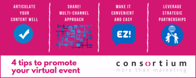 Promote your virtual event